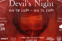 Devil's Night 24 Hour Livestream Fundraiser For Mat The Alien