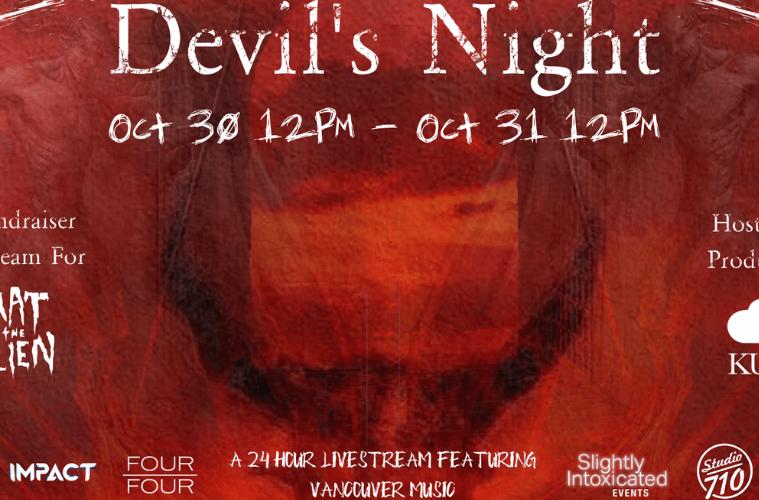 Devil's Night 24 Hour Livestream Fundraiser For Mat The Alien