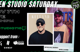 Open Studio Saturday Episode 2: A PodCast, DJ Sets, And More!