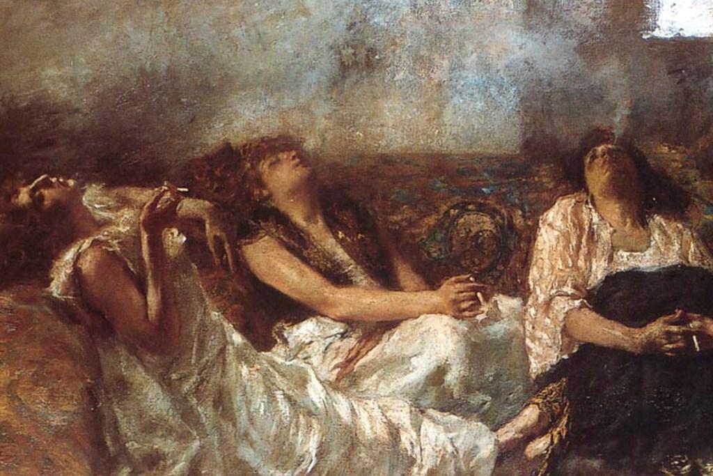 Alexander Dumas's & Charles Baudelaire's Hashish Club