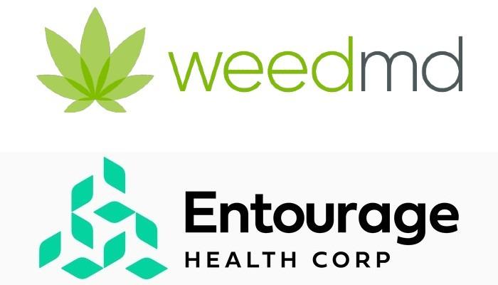 weedmd new name entourage health corp