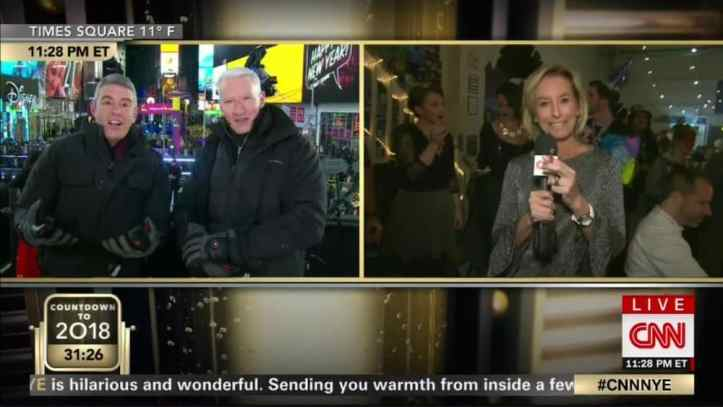 CNN Anchor Smoked Pot on Live TV During New Year's Eve Special