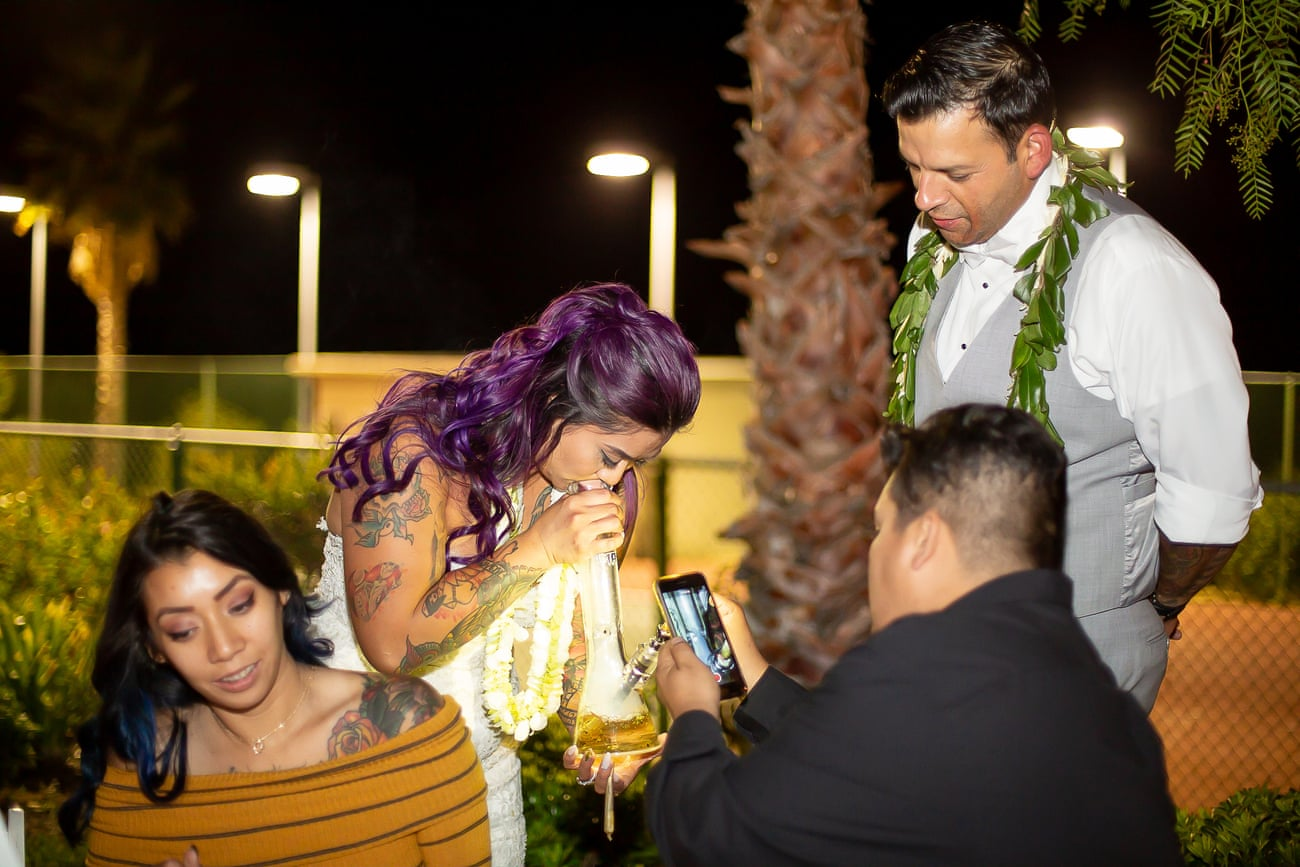 US|Nice day for a weed wedding: the couples who married with marijuana