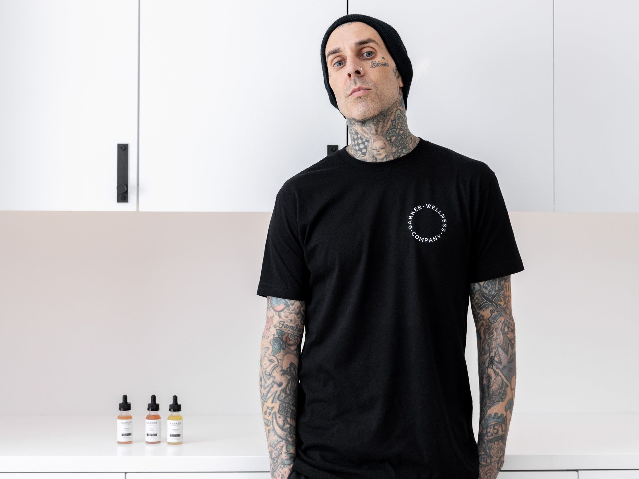 Travis Barker launches THC-free vegan wellness brand