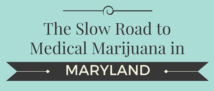 Maryland Licensed Marijuana Sales Delayed until 2017