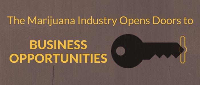 The Marijuana Industry Opens Doors to Business Opportunities