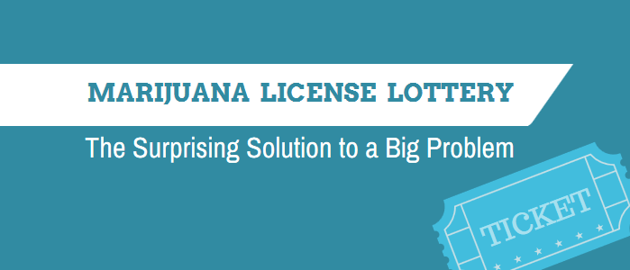 Marijuana License Lottery – The Surprising Solution to a Big Problem