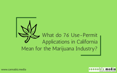 What do 76 Use-Permit Applications in California Mean for the Marijuana Industry?