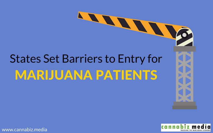 States Set Barriers to Entry for Marijuana Patients