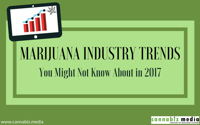 Marijuana Industry Trends You Might Not Know About in 2017
