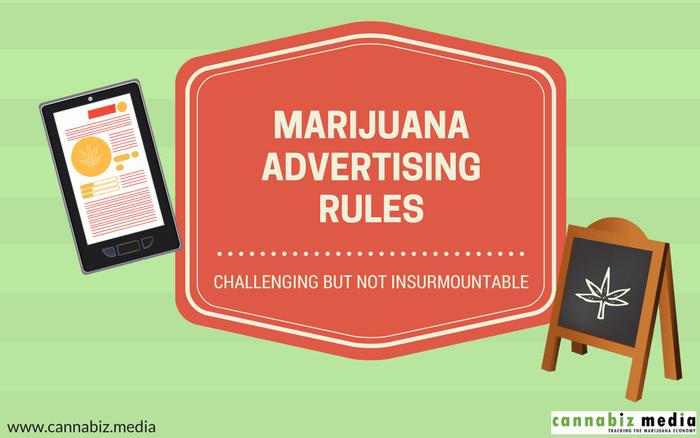 Marijuana Advertising Rules: Challenging but Not Insurmountable