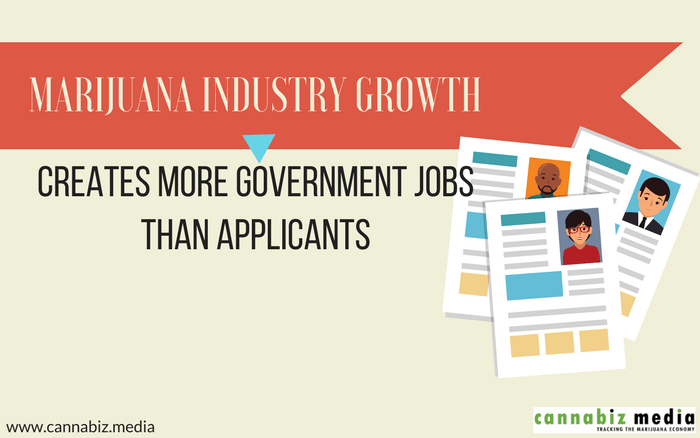 Marijuana Industry Growth Creates More Government Jobs than Applicants