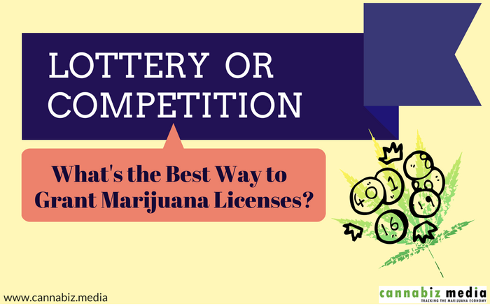 Lottery or Competition – What's the Best Way to Grant Marijuana