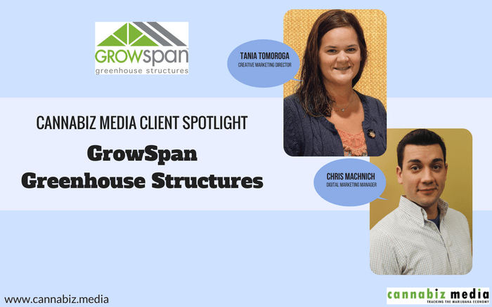 Cannabiz Media Client Spotlight: GrowSpan Greenhouse Structures