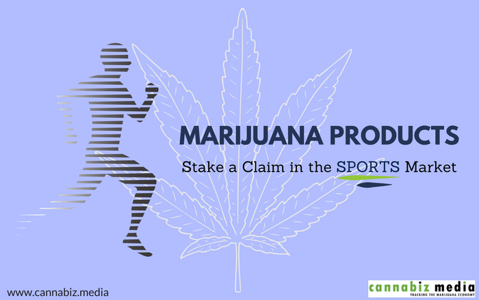 Marijuana Products Stake a Claim in the Sports Market