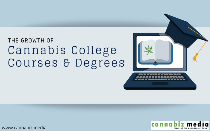 The Growth of Cannabis College Courses and Degrees