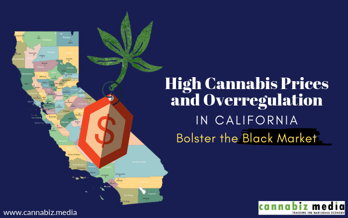 High Cannabis Prices and Overregulation in California Bolster the Black Market