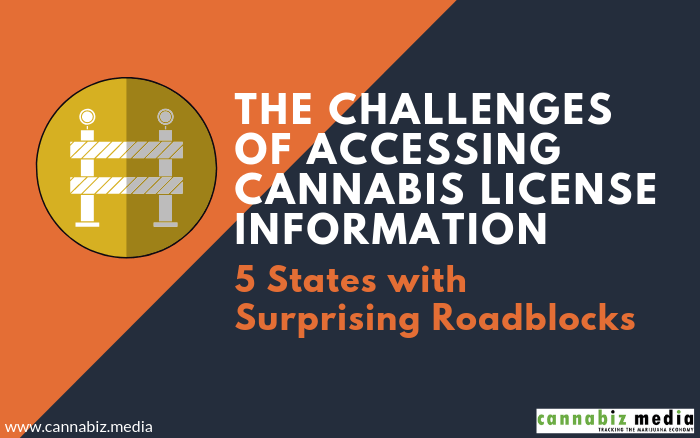 The Challenges of Accessing Cannabis License Information – 5 States with Surprising Roadblocks