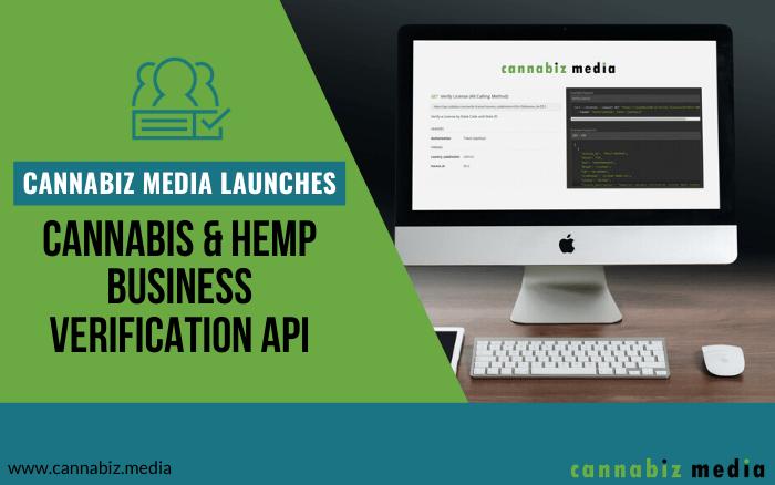 Cannabiz Media Launches Cannabis and Hemp Business Verification API
