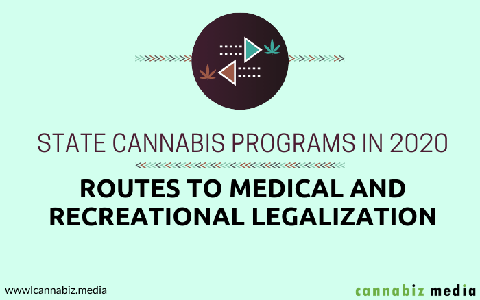State Cannabis Programs in 2020: Routes to Medical and Recreational Legalization