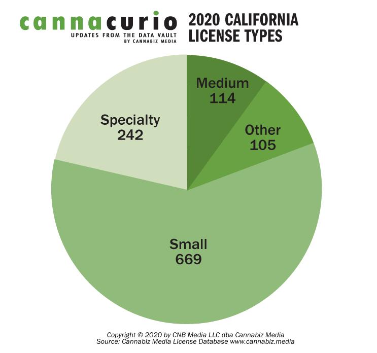 2020 California License Types