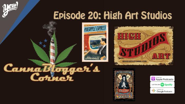 CannaBlogger's Corner Episode 20: High Art Studios