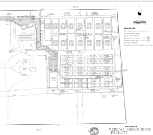sample production facility site plan