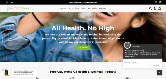 Screenshot 2019 07 01 Pure CBD Hemp Oil Health and Wellness Products NutraCanna™1 700x335 - NutraCanna