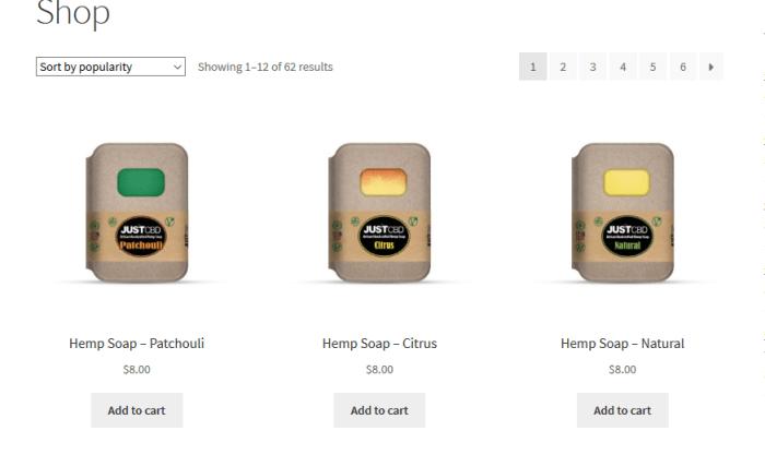 Screenshot 2019 08 14 Buy CBD Oil Edibles Topicals More JustCBD Store - Just CBD