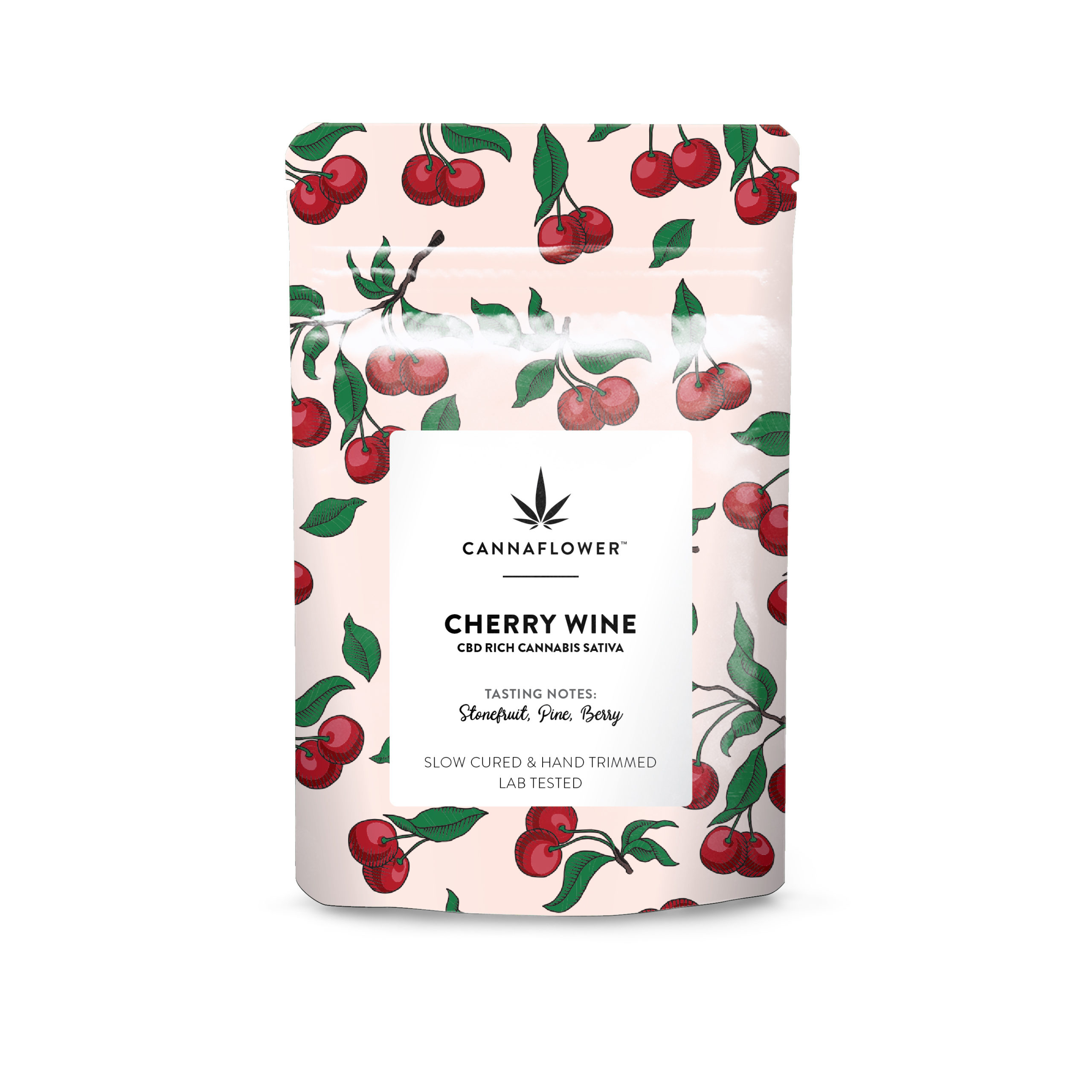 Cannaflower™ Cherry Wine Bag
