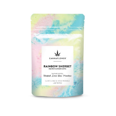 Cannaflower Rainbow Sherbet
