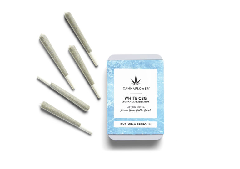 Cannaflower White CBG 5 Pack Effects at a glance