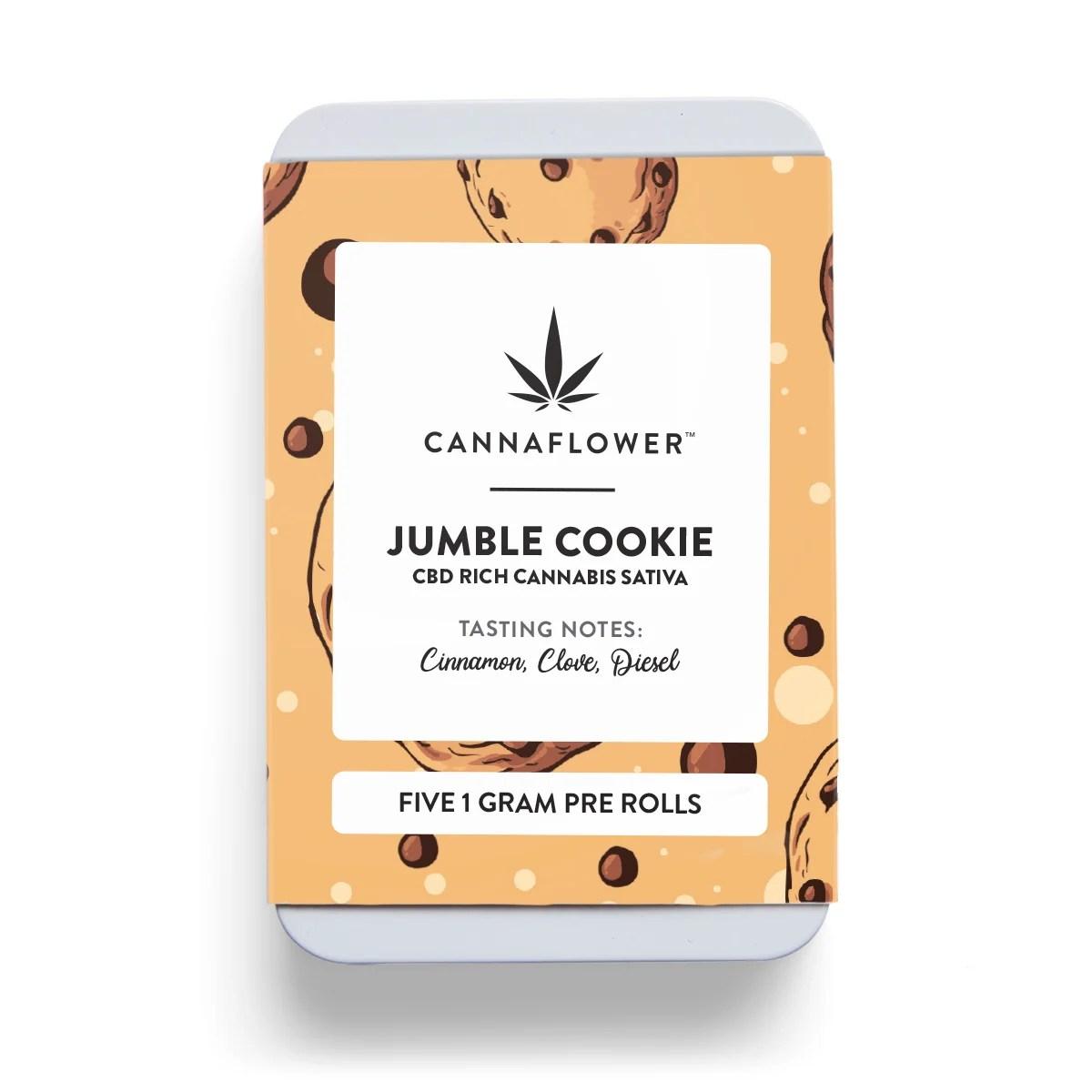 Cannaflower Jumble Cookie 5 Pac
