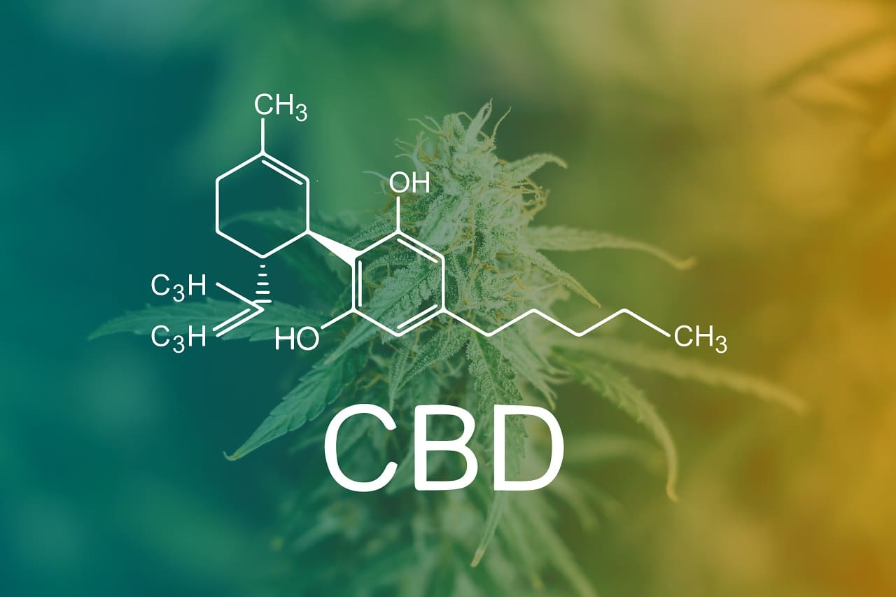 CannaGlobe CBD Isolate Molecules