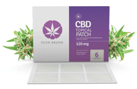 CannaGlobe Custom Private Label CBD Topical Patch