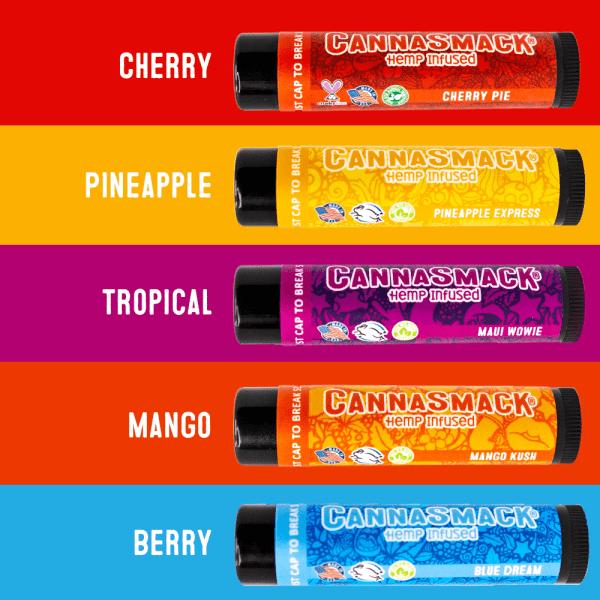 CannaSmack-Natural-Hemp-Lip-Balm-Flavors