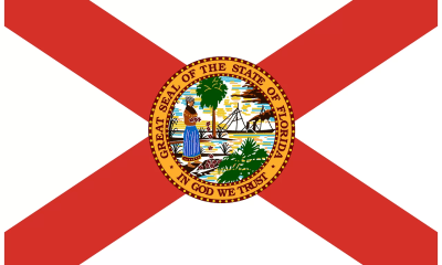 The flag of Florida