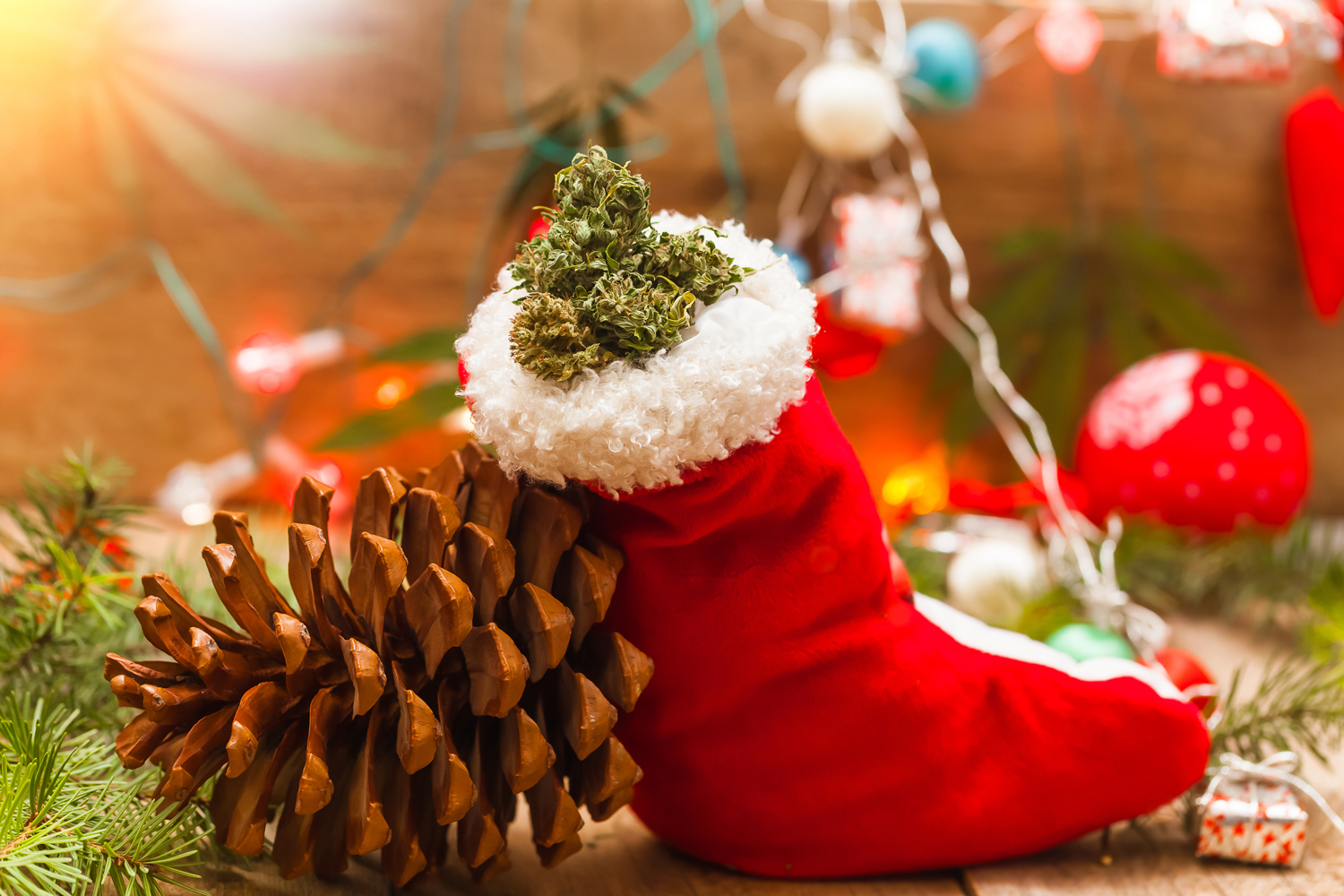 cannabis holiday gift