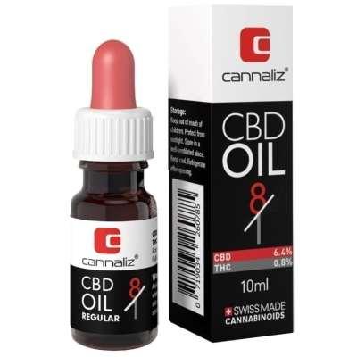 Cannaliz Special Limited Edition 8/1 Ratio Oil : 6.4% CBD