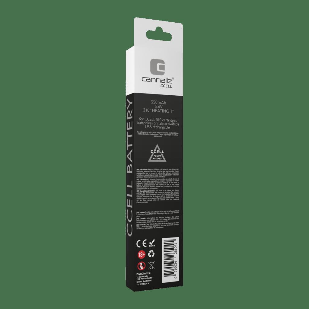 Cannaliz_CBD_E-Cigarette_Vape-Pen_BatteryChargerCCELL_back_2018.10_sq