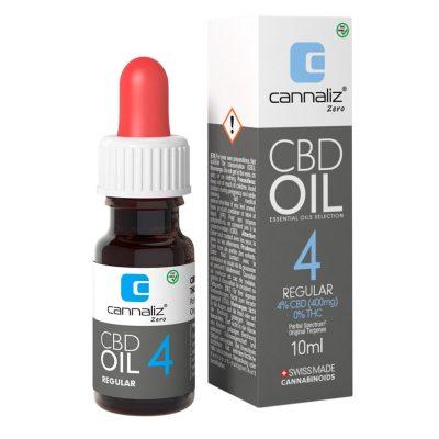 Cannaliz CBD Oil : 4% CBD (THC Free)