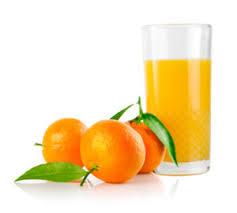 Мандариновый сок с мякотью