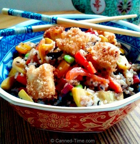 Trader Joe's Fried Rice, Fresh Veggies & Fried Tofu - from Canned-Time.com