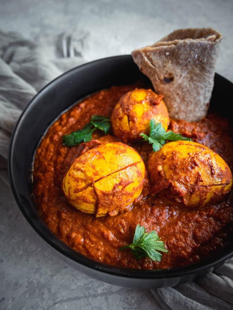 Bol de curry aux œufs