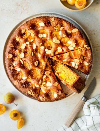 gâteau moelleux mirabelles amandes
