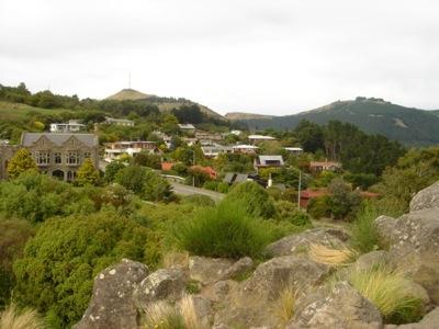 Christchurch City Tour Cashmere Hills Scenery