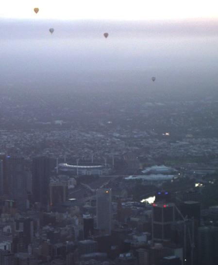 Balloons Over the MCG