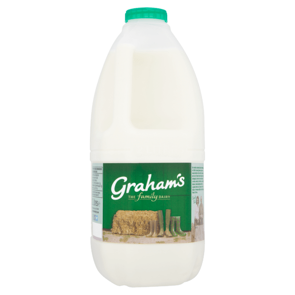 Cannich Stores - Grahams Semi Skimmed Milk 2L