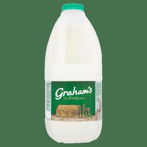 Cannich Stores - Grahams Semi Skimmed Milk 2L