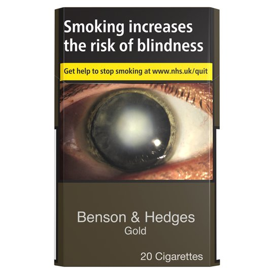 Cannich Stores : Benson & Hedges Gold